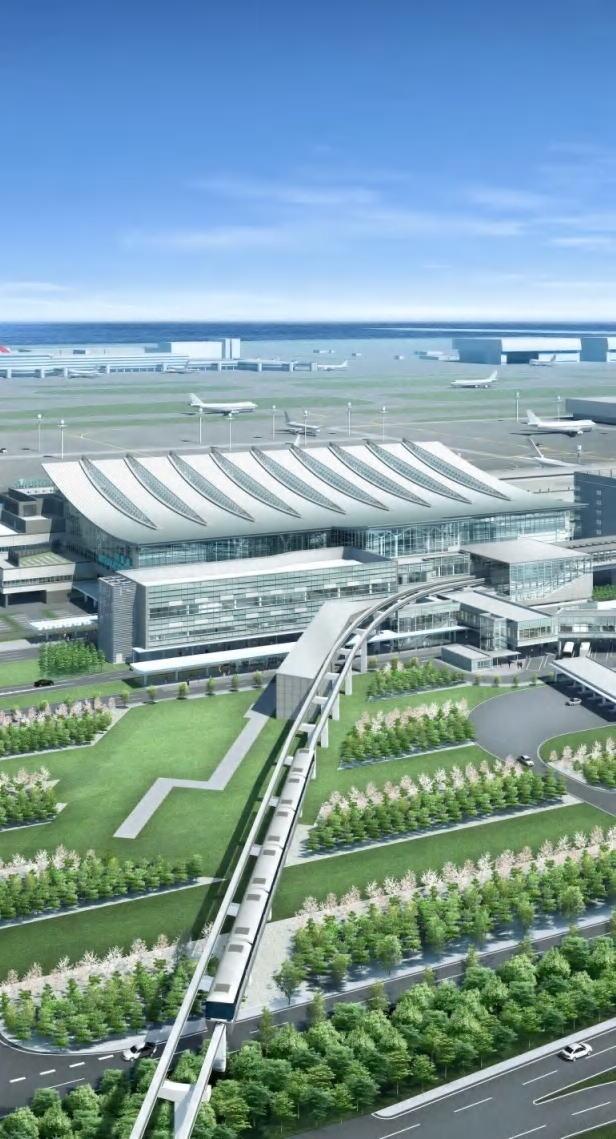 羽田空港 (東京国際空港) 第5 E滑走路増設 ターミナル増築 ...