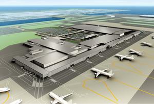 関西国際空港 (関空) 本格ターミナル増設構想